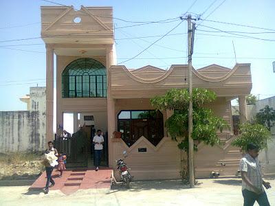 Rajasthani style minimalist 1800 sq ft house design from Mohsine Raza