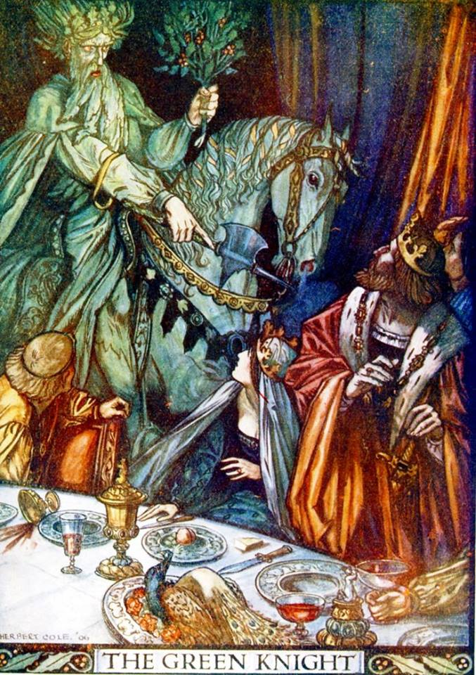 temptation scenes in sir gawain and the green knight Free essay: temptation in sir gawain and the green knight in the poem sir   this temptation corresponds with the hunt scene involving a deer, in terms of the .