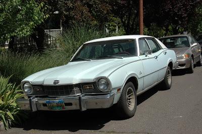 1974 Mercury Comet sedan.