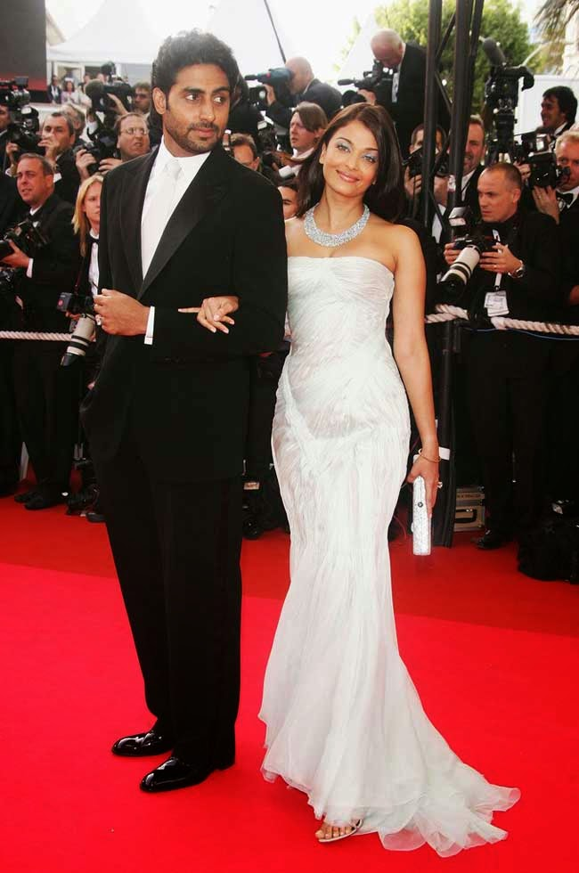 Aishwarya Rai Bachchan at 60th Cannes film festival in 2007