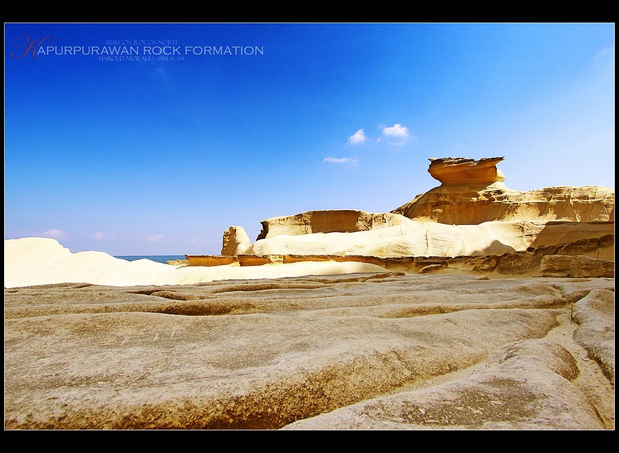 Kapurpurawan Rock Formation Ilocos Norte