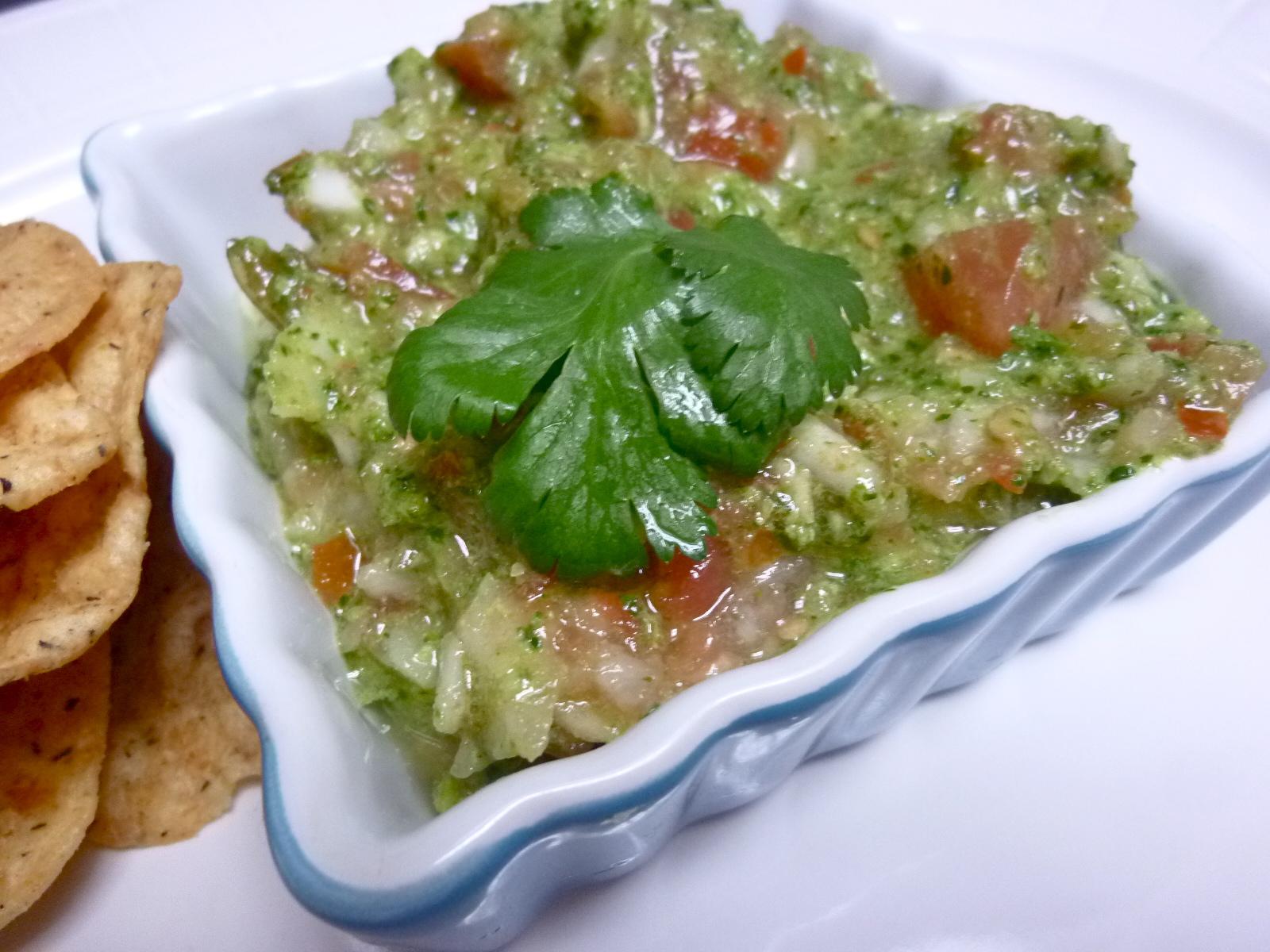 ... Mad Hausfrau: Tequila Cilantro Pepita Pesto Salsa for Cinco de Mayo