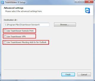 Cài đặt TeamViewer 9 beta nâng cao