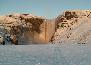 Winter sun or winter wonderland holiday? Iceland waterfalls