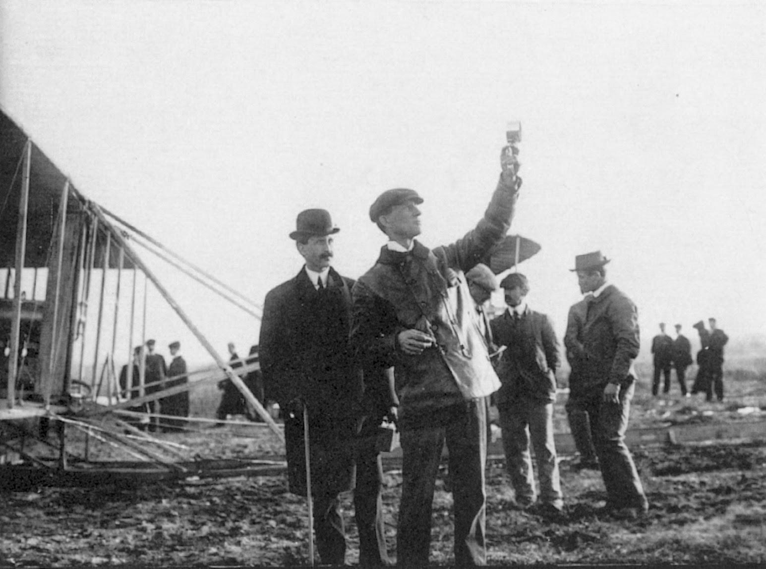 Los primeros vuelos de los Hermanos Wright