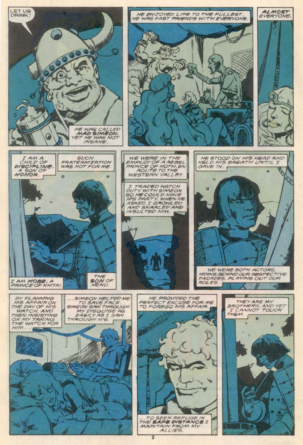 Conan the Barbarian (1970) Issue #208 #220 - English 3