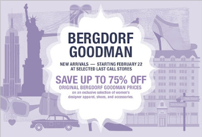 Following Bergdorf Goodman's Overstock
