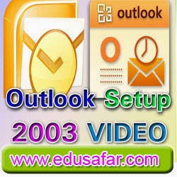 GTU CCC Practical Exam Related Video 2  how to Outlook 2003 set up ?
