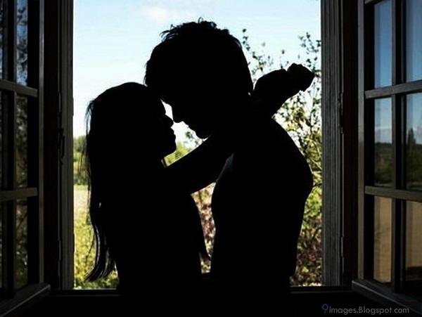 Tumblr Boy and Girl Silhouette Image