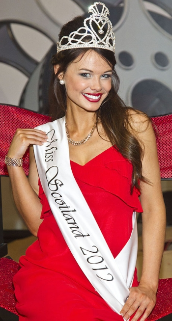 Miss Scotland 2012 winner Nicole Treacy