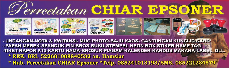 Percetakan CHIAR Epsoner