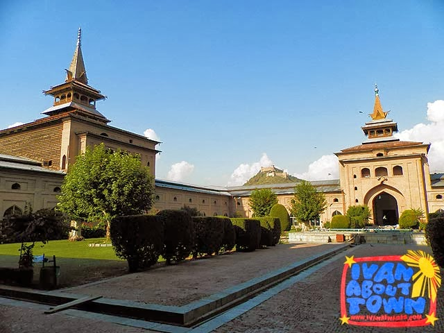 Jamia Masjid in Srinagar, Kashmir, India
