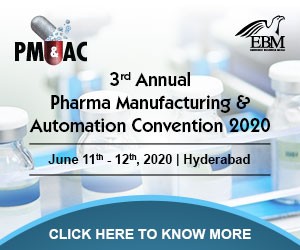 3rd Annual Pharma Manufacturing & Automation Convention 2020