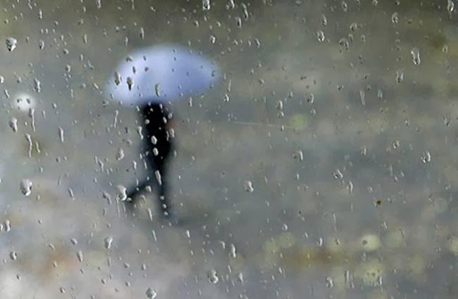 Ο καιρός βροχερός.... πάρτε ομπρέλα μαζί σας
