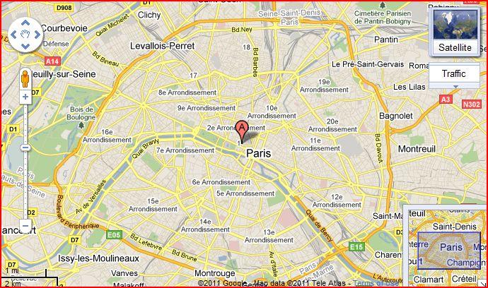 Image gallery louvre location - Latitude de paris ...