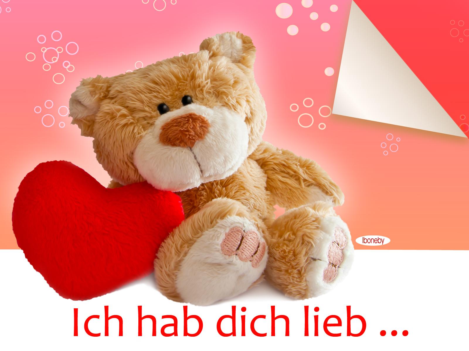 Für dich : KARTEN - Ich hab dich lieb