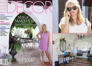 Reese Witherspoon Covers ELLE Decor September 2012 » Gossip | Reese Witherspoon