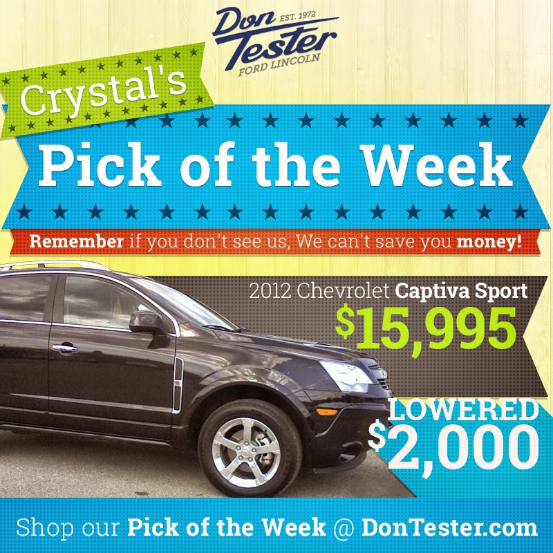Used Chevrolet Captiva: Don Tester Ford Lincoln: Used