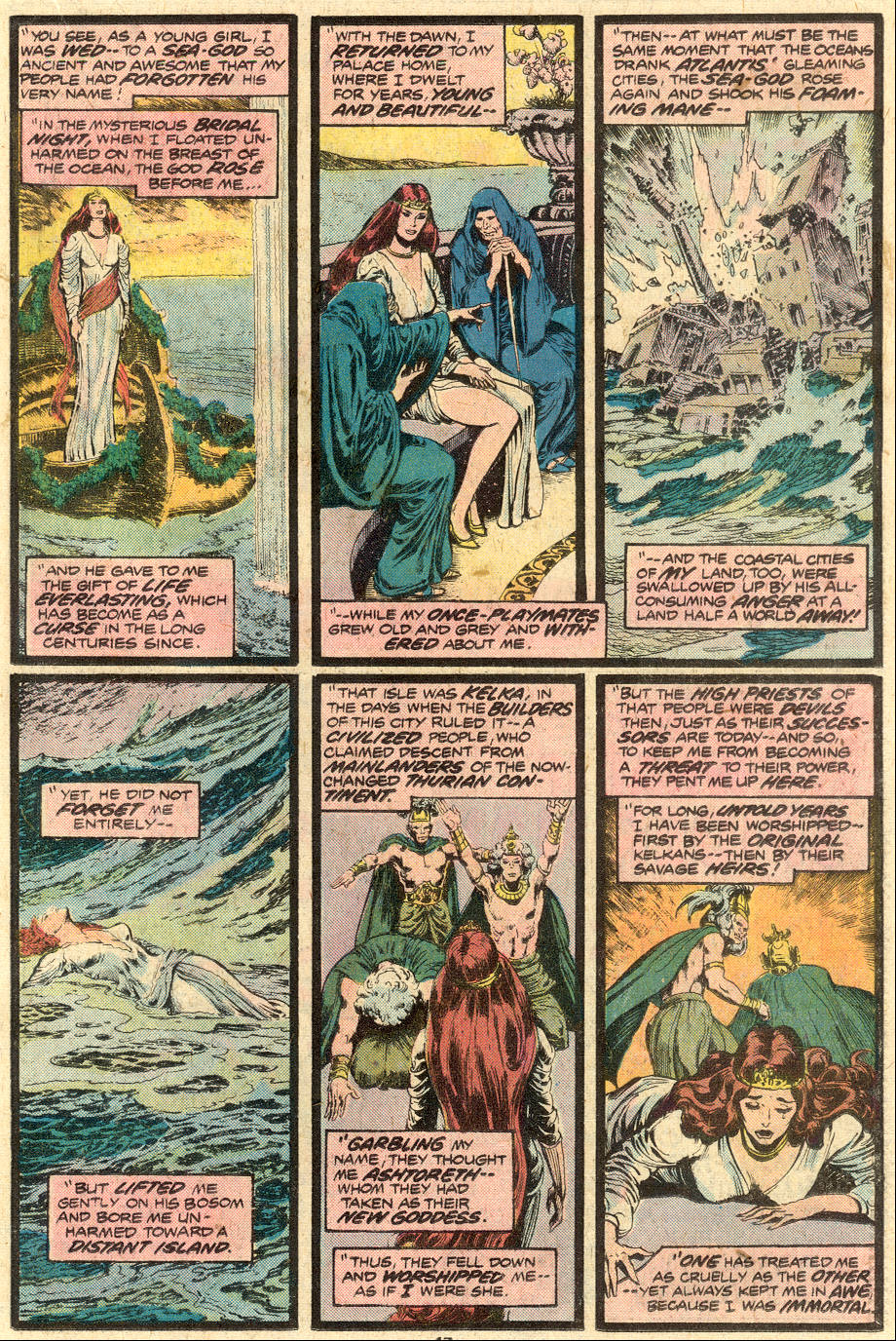 Conan the Barbarian (1970) Issue #71 #83 - English 12