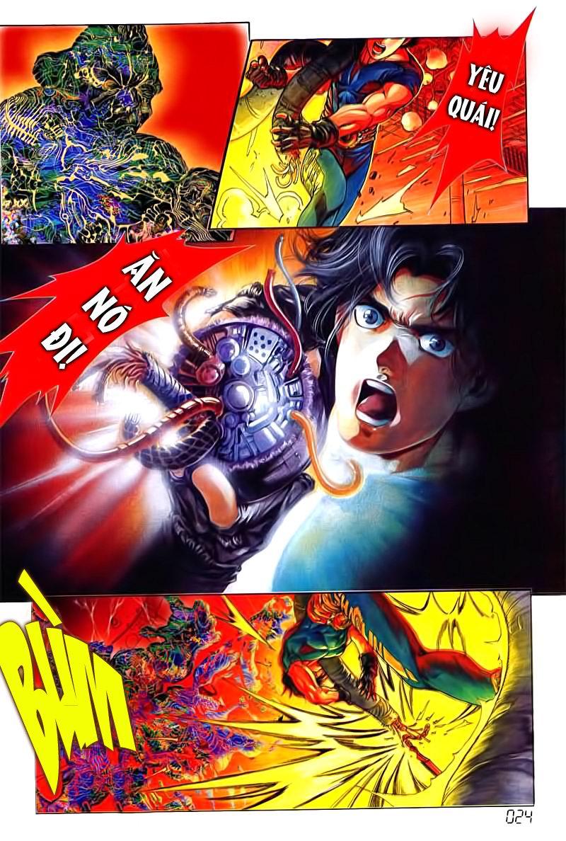 Cyber Weapon Z - Siêu Thần Z chap 3 - Trang 17