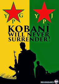 Apoyar la heroica Resistencia del pueblo kurdo en Kobane!