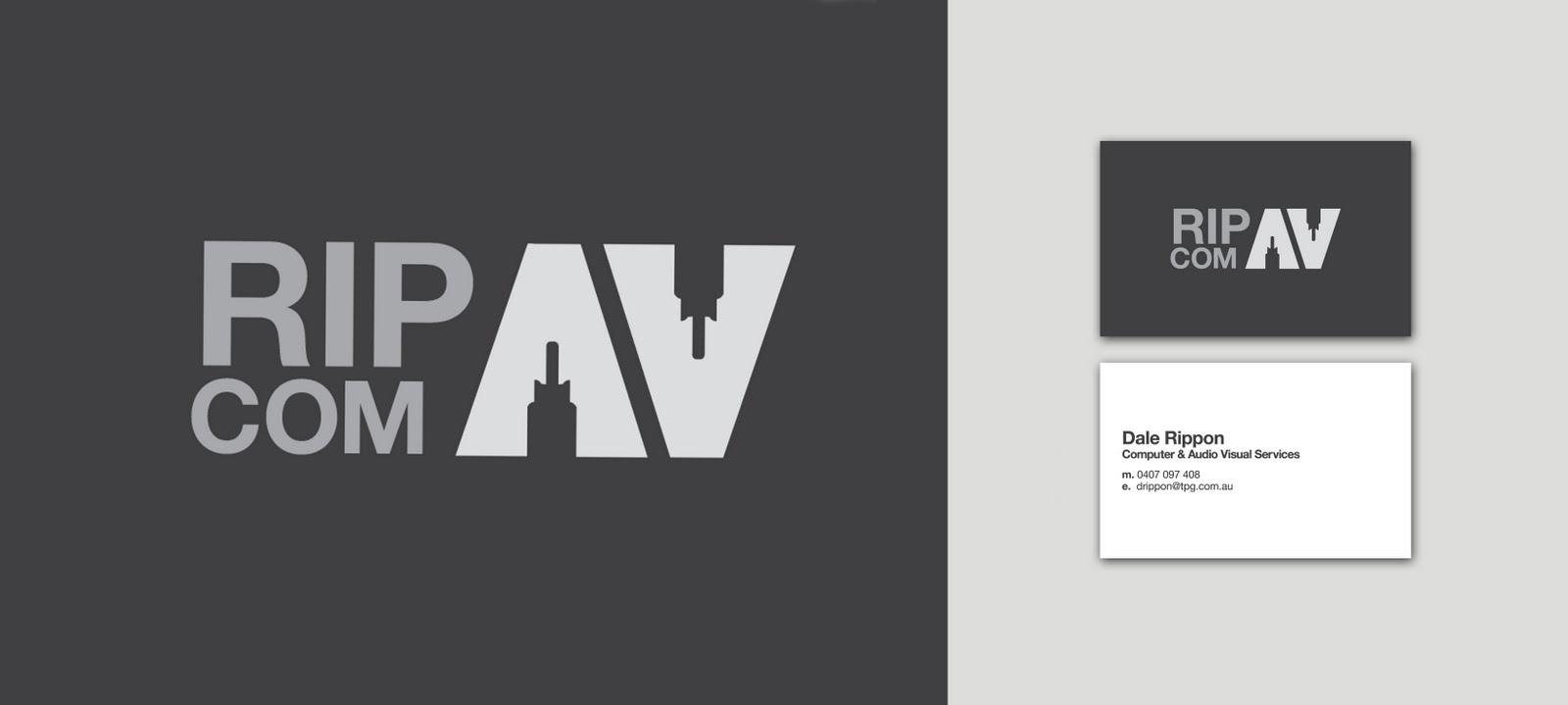 Welshdesign: RIP COM AV Branding