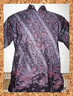 Rancangan Baju Batik Modern Busana Batik Muslim
