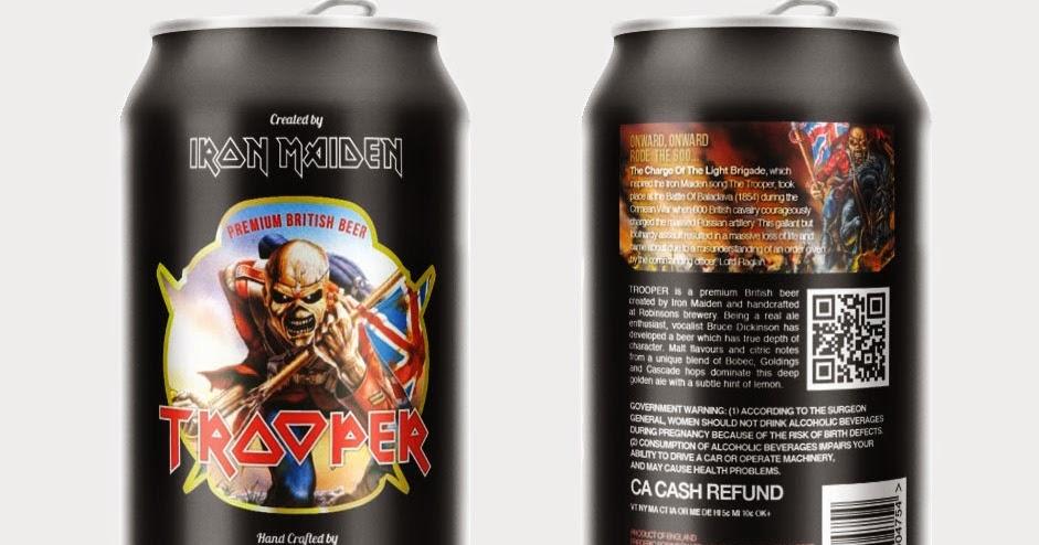 10 Robinsons Trooper Iron Maiden Beer Beer Mats *NEW*