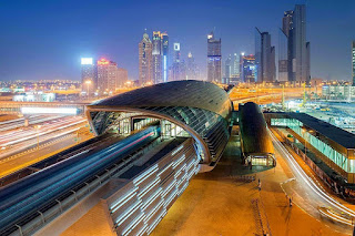 Railway Station of Dubai