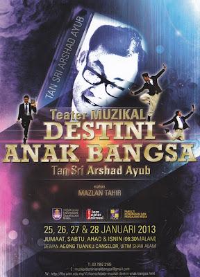 Teater Muzikal `Destini Anak Bangsa'