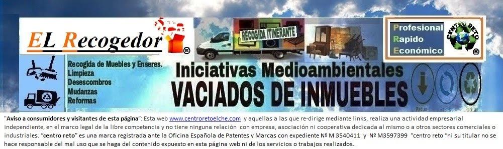 RECOGIDA DE MUEBLES Y VACIADOS ELCHE