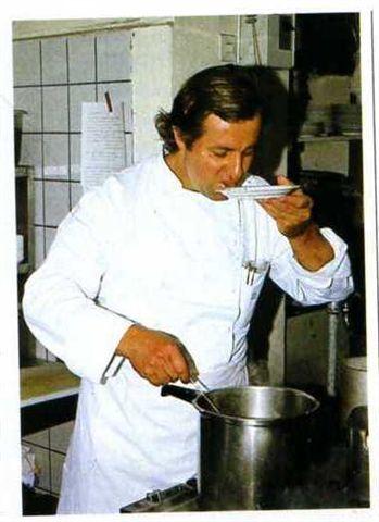 Vincent Klink, wie ich ihn 1974 im