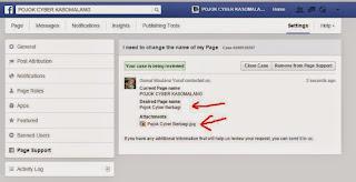 Permohonan telah terkirim, tunggu konfirmasi facebook (kurang dari 5 menit)