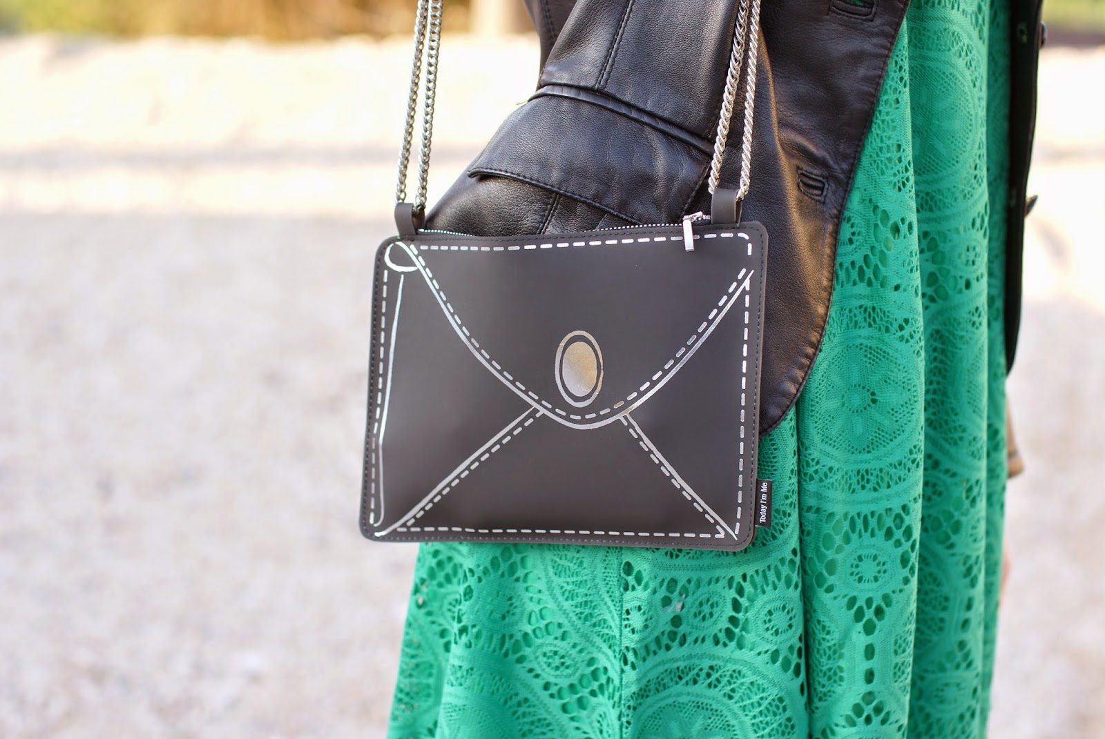 Today I'm me evening bag, Sheinside green dress, Fashion and Cookies, fashion blogger