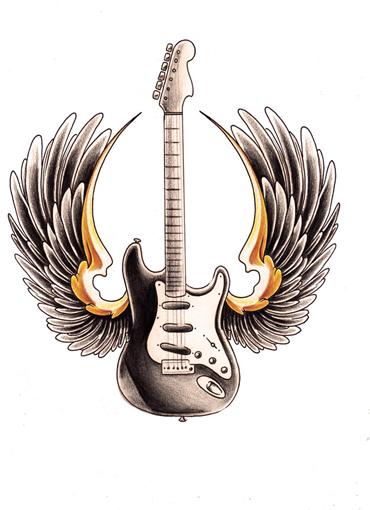 Ai Tattoo  Guitar tatt...
