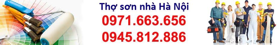Thợ sơn nhà giá rẻ nhất Hà Nội 0971.663.656