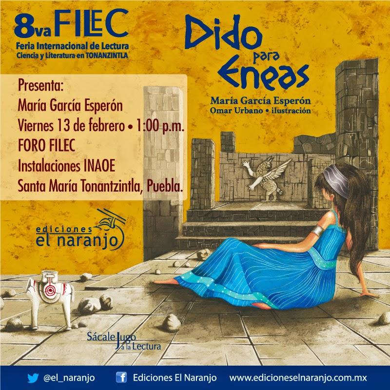Dido para Eneas en FILEC Tonantzintla 2015 el 13 de febrero