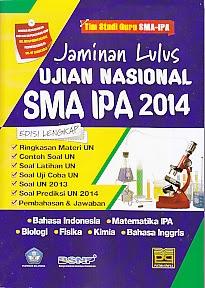 toko buku rahma: buku JAMINAN LULUS UJIAN NASIONAL SMA IPA 2014, pengarang badan standar nasional pendidikan, penerbit pustaka grafika