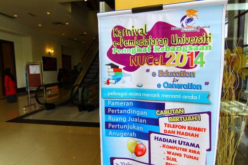 Karnival e-Pembelajaran Universiti Peringkat Kebangsaan ataupun NUCeL2014