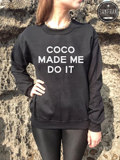 t-shirt, birkin, graphic t, graphic t shirt, coco made me do it, etsy, etsy shop,