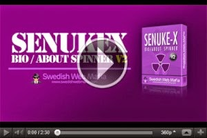 SenukeX Bio About Spinner software Free