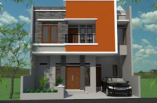 rumah minimalis 2 lantai terbaru 2014