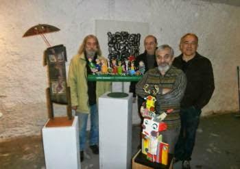 zand art galerie d art singulier- outsider art magazine gricha rosov