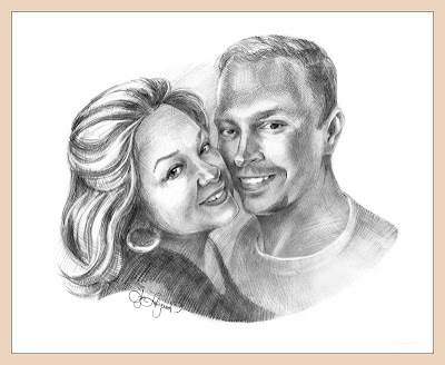 Taya Lear portrait, Kevin, american couple, wife and husband