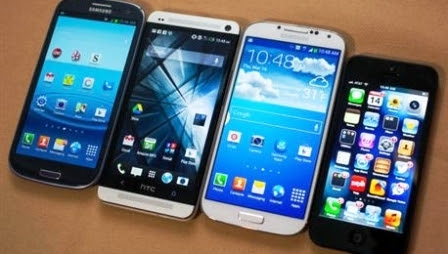 Apple And Samsung Gradually Smartphone Rivals