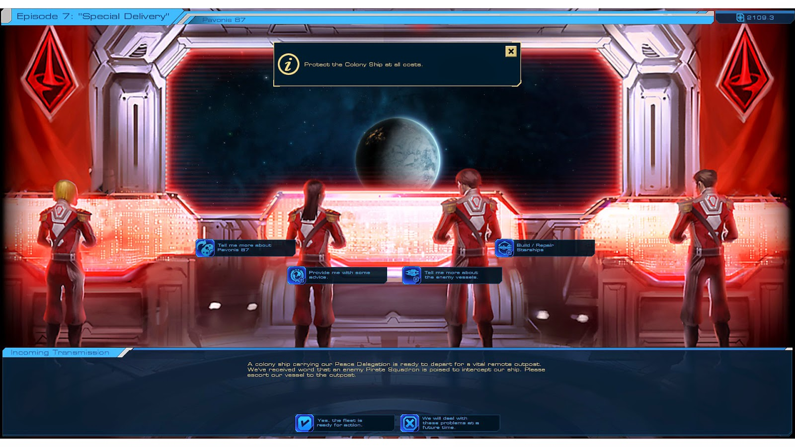 Sid Meier's Starships  Mission Brief
