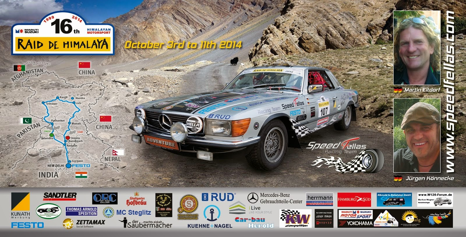 Speedfellas goes Himalaya 2014