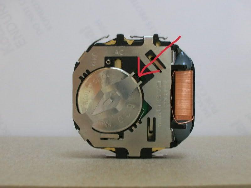 Zona casio cambiar la pila a un reloj casio for Reloj de pared vintage 60cm