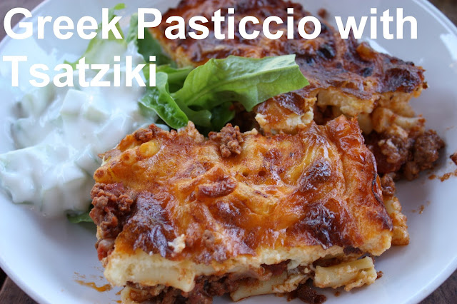Greek Pasticcio with Tsatziki recipe
