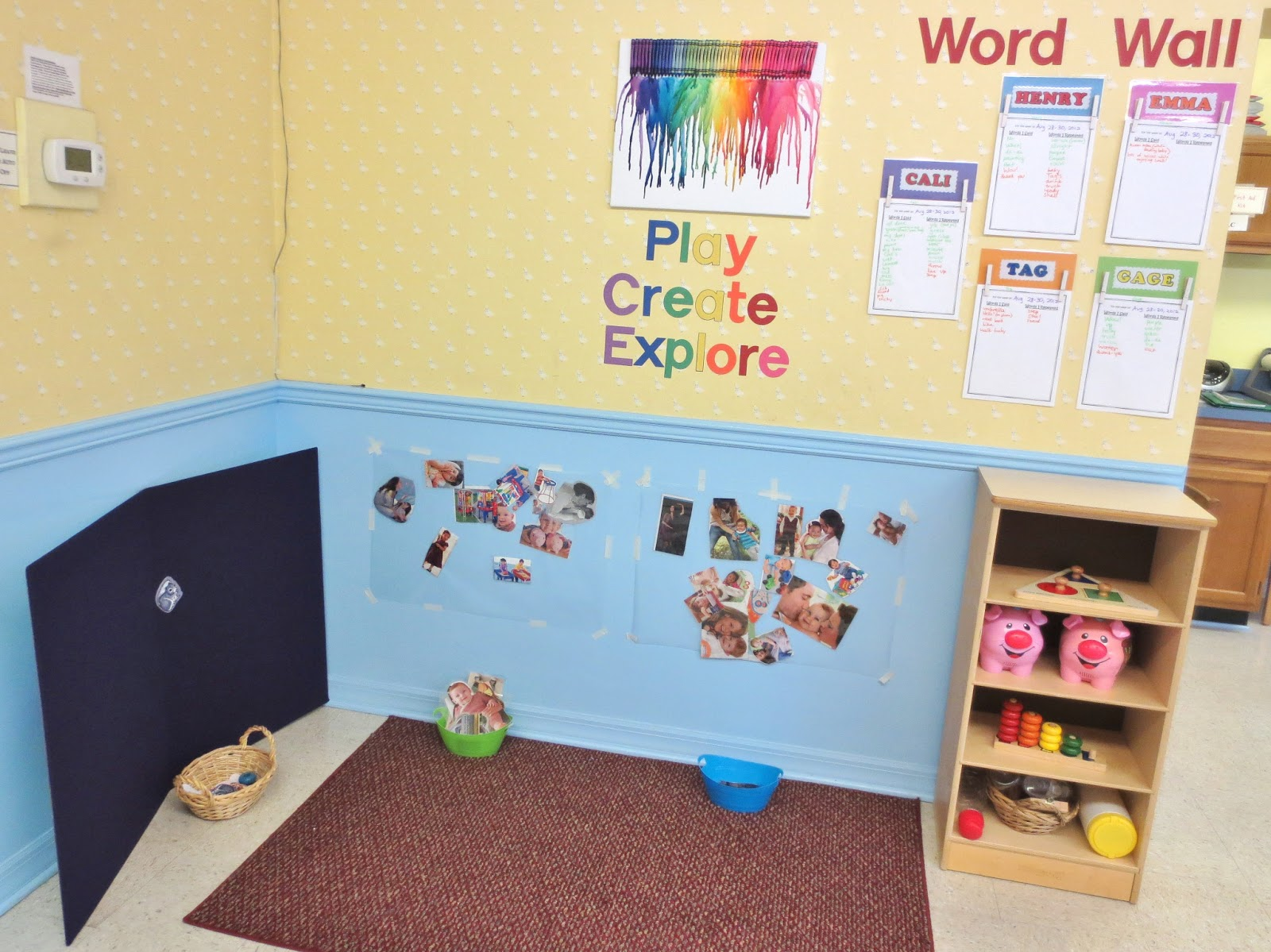 Princesses, Pies, & Preschool Pizzazz: Toddler Word Wall
